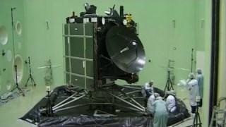 Rosetta Spacecraft at ESA's ESTEC Test Centre