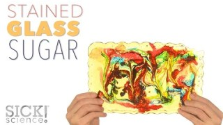Stained Glass Sugar – Sick Science! #218