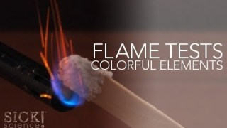 Flame Test Colorful Elements – Sick Science! #146