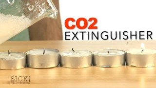CO2 Extinguisher – Sick Science! #170