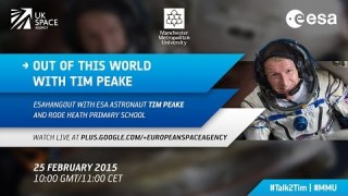 ESAhangout: Out of this world with Tim Peake