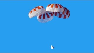 SpaceX Crew Dragon Parachute Test