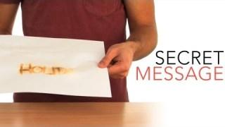Secret Message – Sick Science! #014