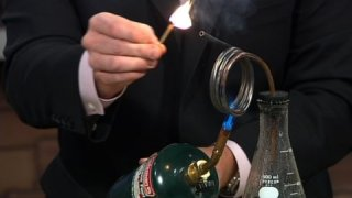 Superheated Steam – Cool Science Experiment