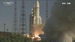 Ariane 5 performs 50th successful launch in a row
