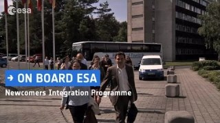 On board – ESA's Newcomers Integration Programme