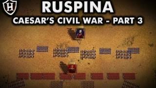 Battle of Ruspina, 46 BC ⚔️ Caesar's Civil War