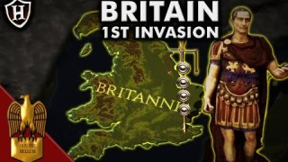 Caesar ⚔️ First Invasion of Britain, 55 BC