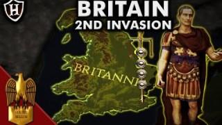 Caesar ⚔️ Second Invasion of Britain, 54 BC