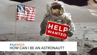 #AskNASA┃ How Can I Be An Astronaut?