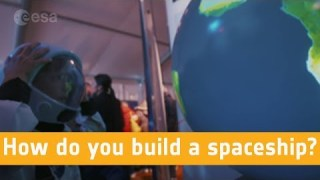 How do you build a spaceship?