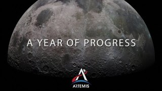 Artemis Update: A Year of Progress on Returning to the Moon