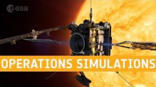 Solar Orbiter operations simulations