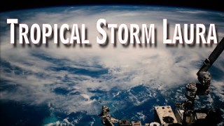 Tropical Storm Laura From Space on August 24, 2020