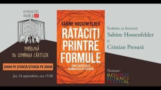 """Despre cartea """"Rătăciți prin formule"""" cu @Sabine Hossenfelder (in english)"""