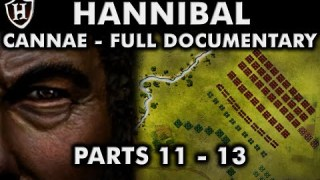 Battle of Cannae, 216 BC ⚔️ FULL DOCUMENTARY ⚔️ (Hannibal PARTS 11 – 13) – Second Punic War