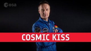 Cosmic Kiss: Matthias Maurer's first mission to the International Space Station