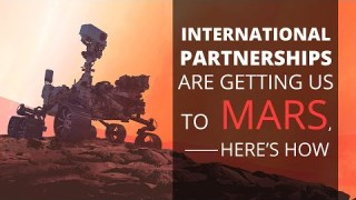 Q/A: International Partnerships are Getting Perseverance to Mars, Here's How