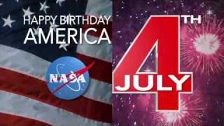 Happy 4th of July, from NASA