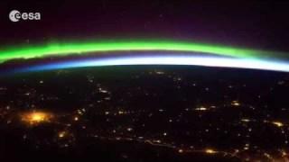 Timelapse: Aurora borealis