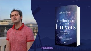 """Lansare de carte """"O plimbare prin Univers"""" cu astronomul Adrian Șonka"""