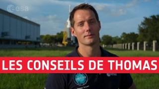 Sélection d'astronautes : quelques astuces de Thomas