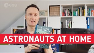 At home with astronauts: Matthias Maurer
