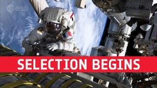 Selection begins | ESA's next astronauts