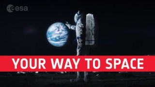 Your way to space | 4K