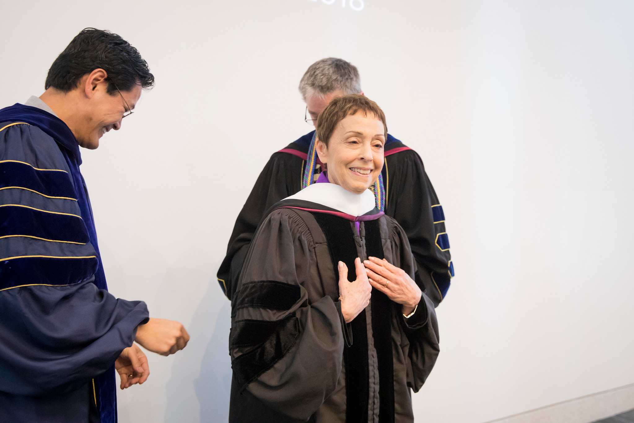 Gail YouTube - Gail Abarbanel Receives Honorary LMU Degree
