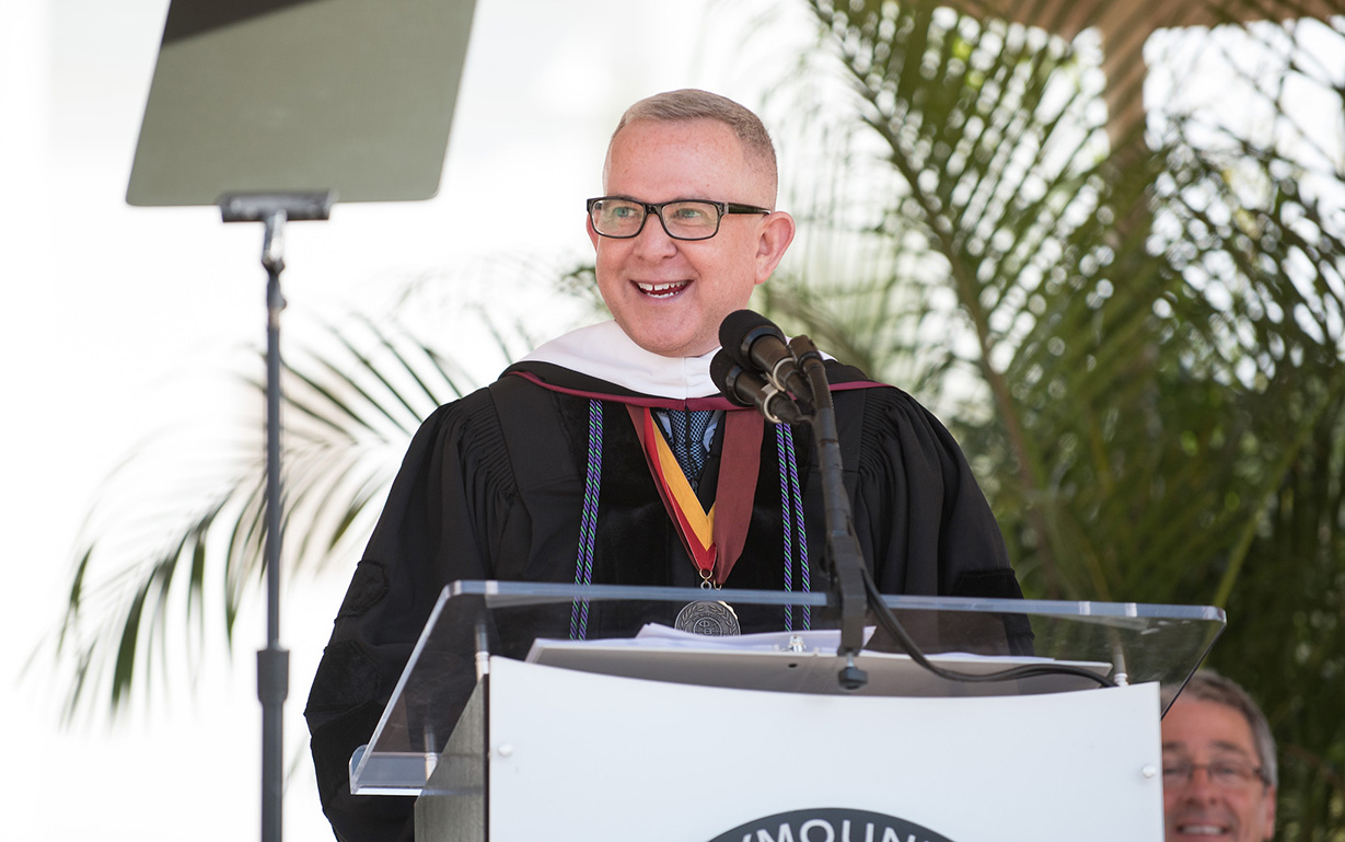 Dr. Shane P. Martin Addresses 2018 Graduate Commencement