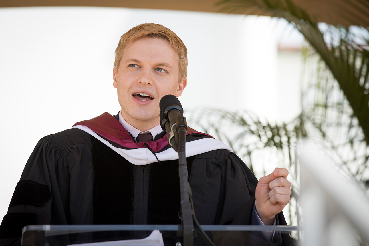 Ronan Farrow Addresses 2018 Undergraduate Commencement