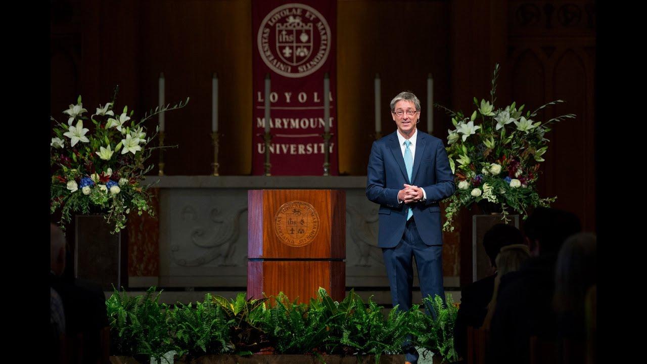 2016 lmu presidents convocation - 2016 LMU President's Convocation