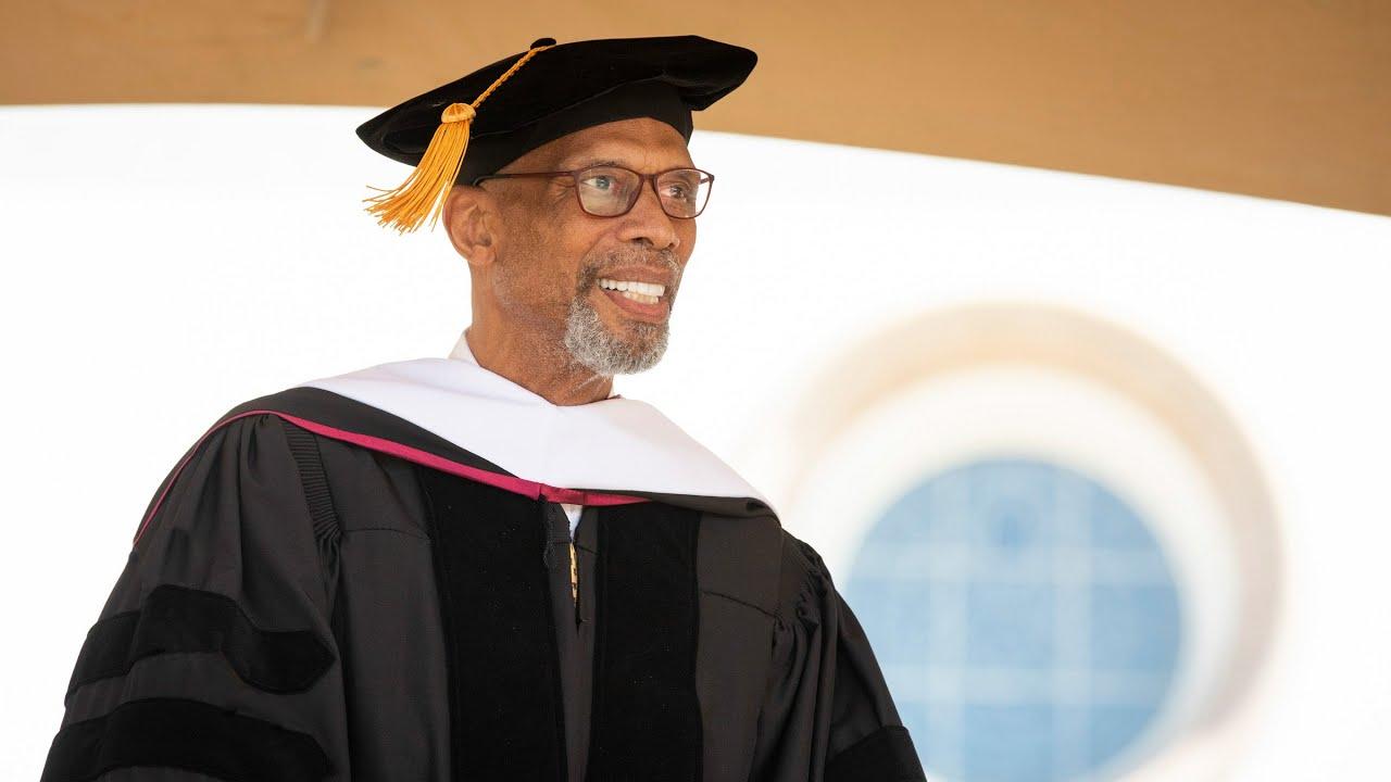 Kareem Abdul-Jabbar Addresses 2019 Undergraduate Commencement