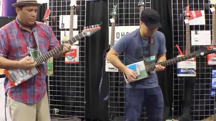 Gear: Bohemian Guitars Jam at Winter NAMM 2014