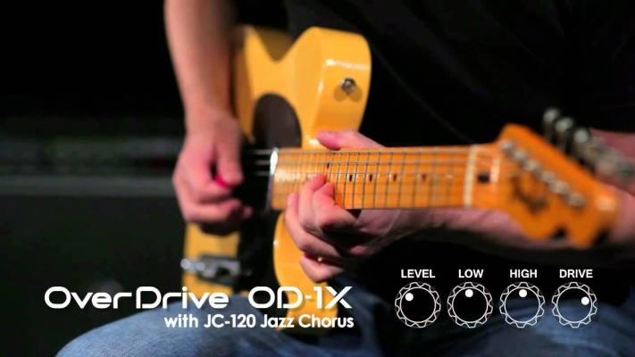 Gear: BOSS OD-3 vs BOSS OD-1X – demo, reamping test Portal Gitarowy