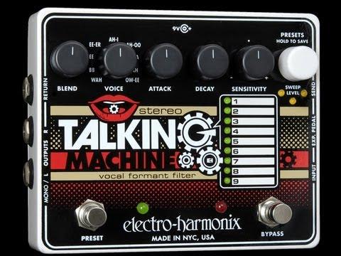Gear: Electro-Harmonix Stereo Talking Machine demo