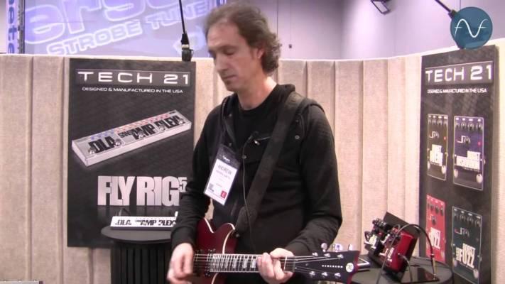 Gear: Tech 21 Fly Rig 5 NAMM 2014