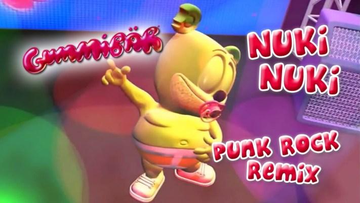 Nuki Nuki (The Nuki Song) Punk Version Gummy Bear