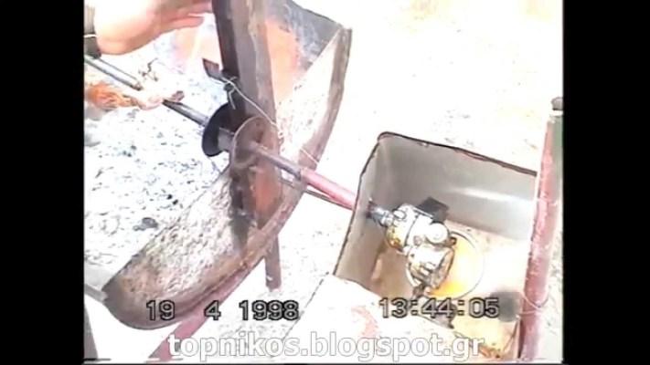 Πατέντα – Σούβλα – Κίνηση με νερό