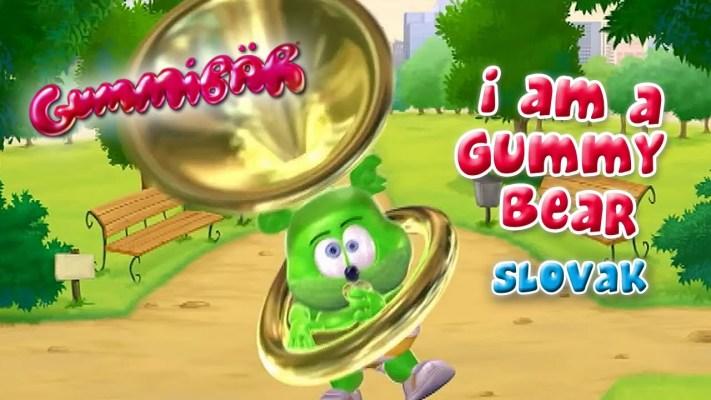 The Gummy Bear Song SLOVAK Version