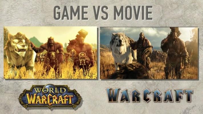 Warcraft Movie Trailer vs WoW World of Warcraft