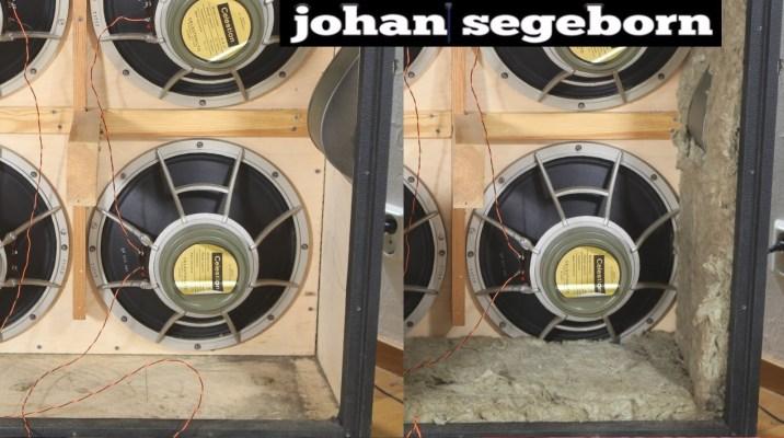 Gear: Marshall Speaker Cabinet Insulation Vs No Insulation