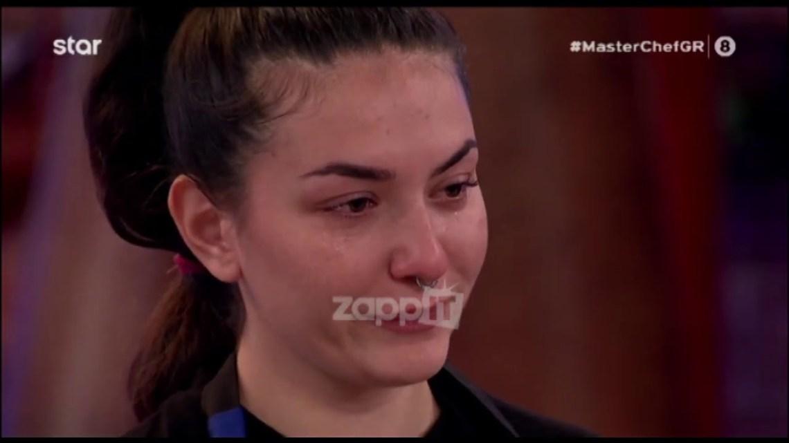 MasterChef: Ξέσπασε σε κλάματα η Μαρία Λαζαρίδη με την ψήφο της Ηρούς Περουλάκη