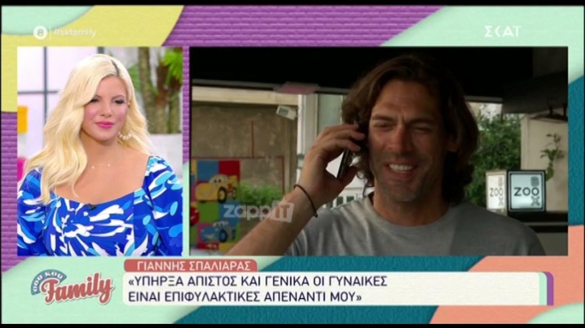 """Γιάννης Σπαλιάρας: """"Δεν θα πήγαινα στο Bachelor"""""""