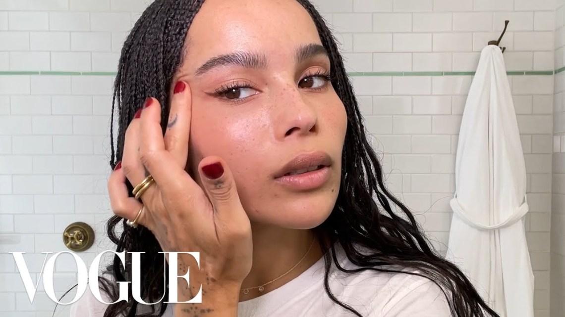 ZoëKravitz's Guide to Summertime Skin Care and Makeup | Beauty Secrets | Vogue