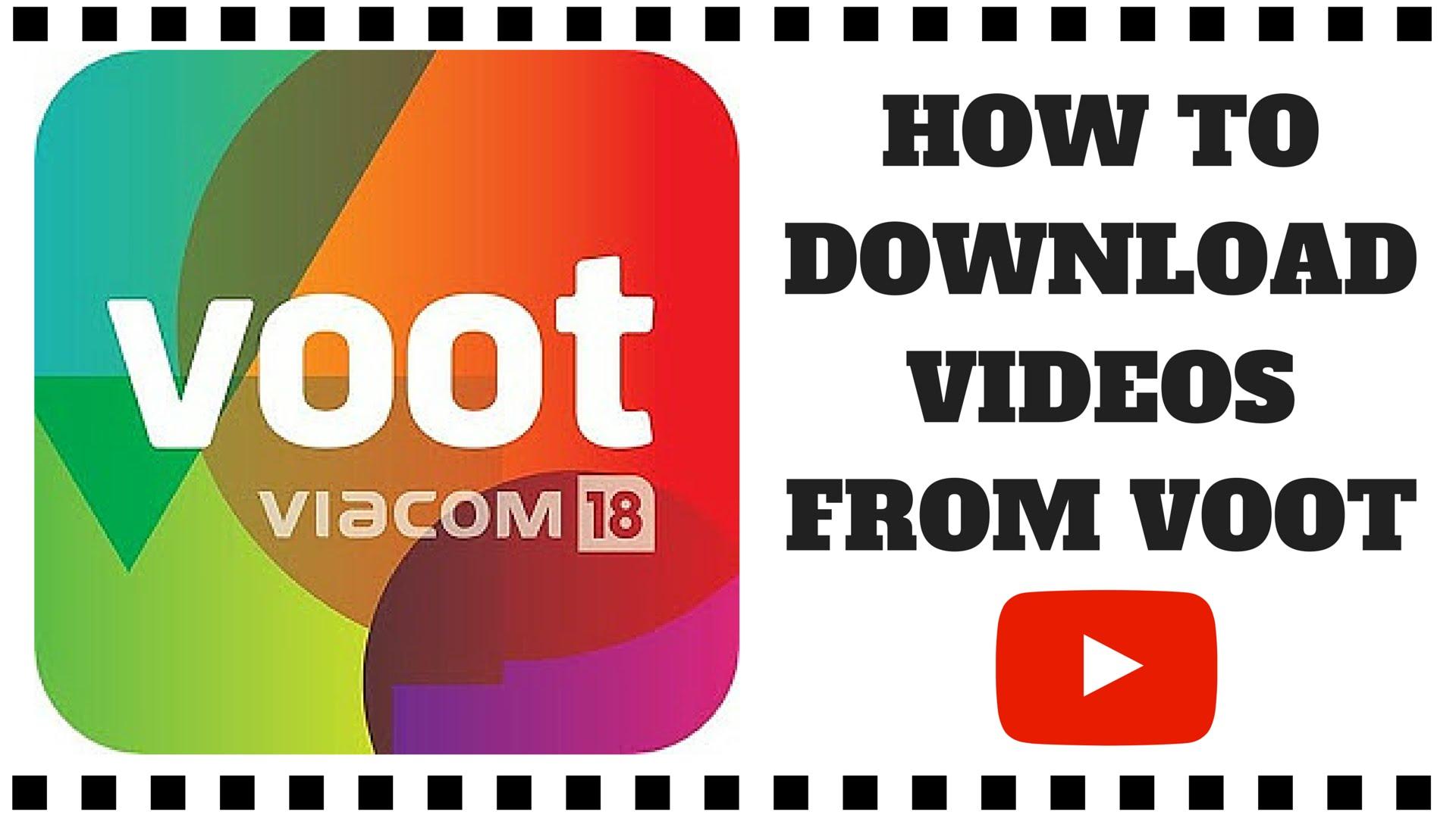 Easiest Way of Downloading Videos from Voot  videomediaio