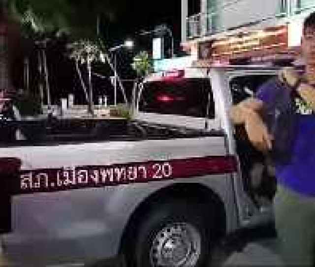Chinese Tourist Injured In Pattaya Gogo Video