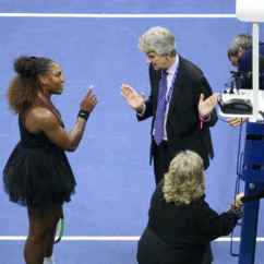 Tennis Umpire Chair Hire Folding Holder Umpires Reportedly Consider Boycotting One News Page Video Serena Williams Matches
