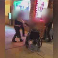 Wheelchair Fight Dining Room Chair Sets Two Security Guards Arrested Following One News Page Video With Man In Outside Milwaukee Restaurant